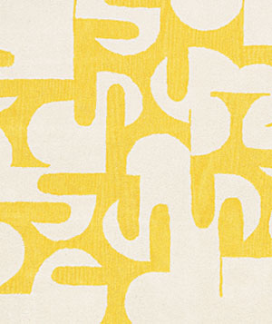 Dead End rug by CB2