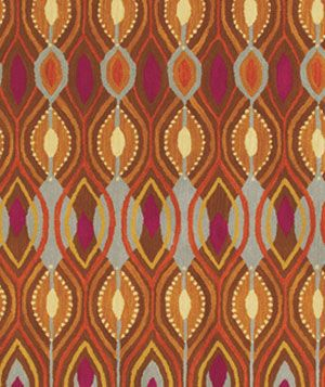 Vibrant Deco Ellipse rug by Shades of Light