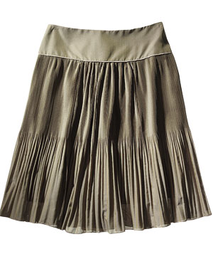 Strenesse Gabriele Strehle polyester-and-silk skirt