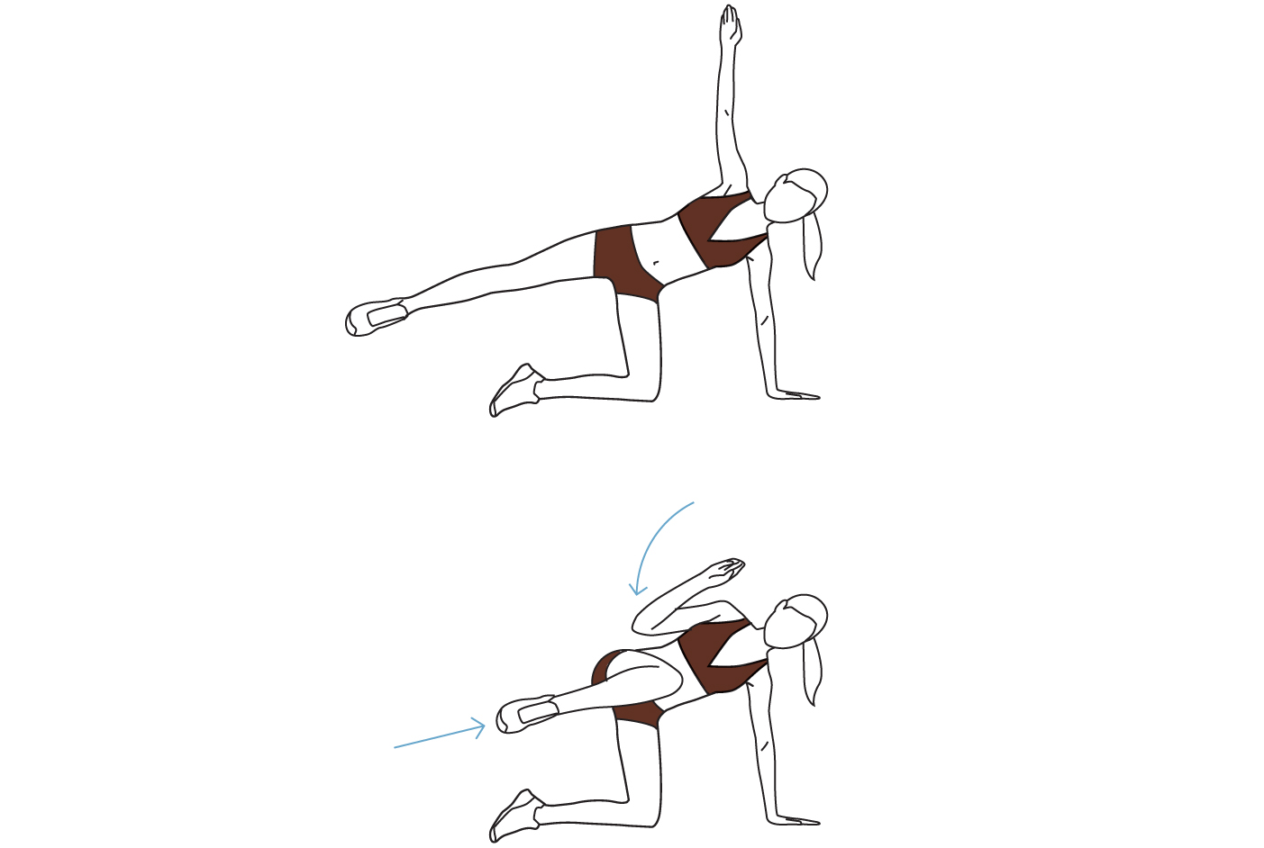 Move 3: Side Balance Crunch