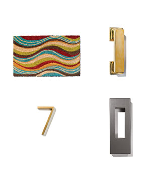 Modern doorway accessories