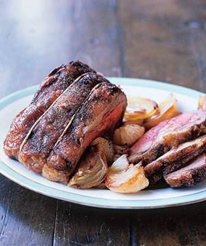 Roast Beef and Onions