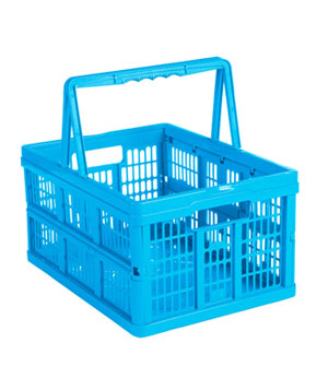 Small Handled Folding Crate