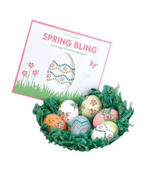 Spring Bling Easter Egg Appliqués