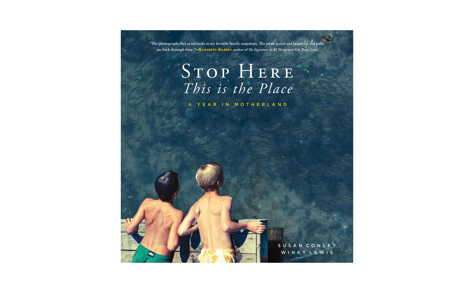 Stop Here, This Is the Place, by Susan Collins and Winky Lewis