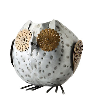 Anthropologie Owl Watering Can