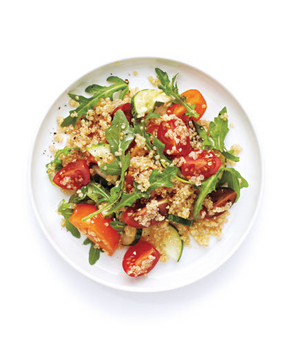 Tomato, Cucumber, and Quinoa Salad