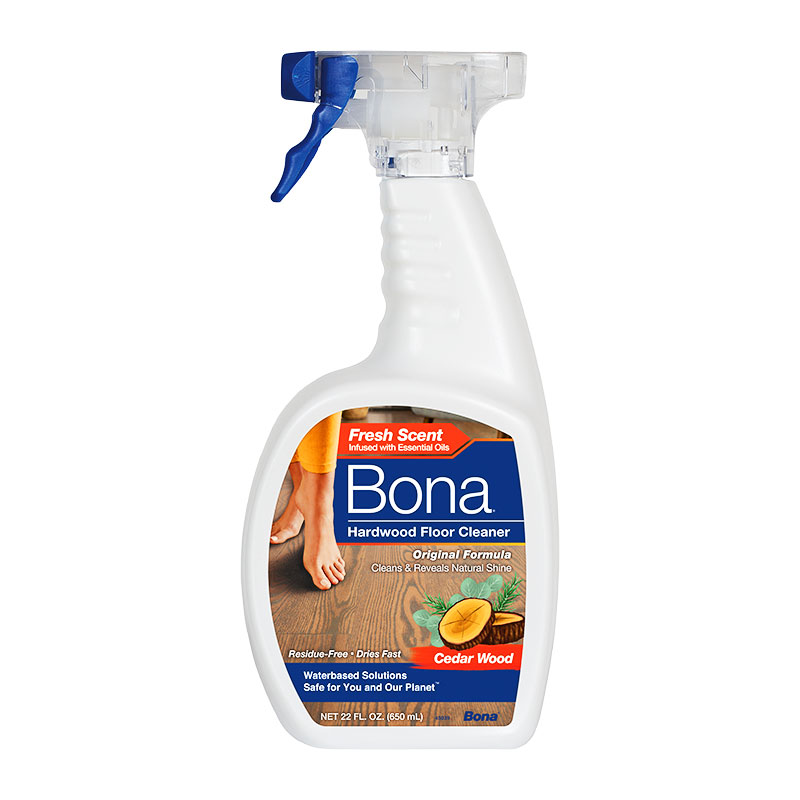 Green Cleaning Products: Bona Hardwood Floor Cleaner With Cedar Wood