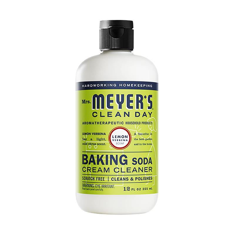 Green Cleaning Products: Mrs. Meyer's Clean Day Baking Soda Cream Cleaner