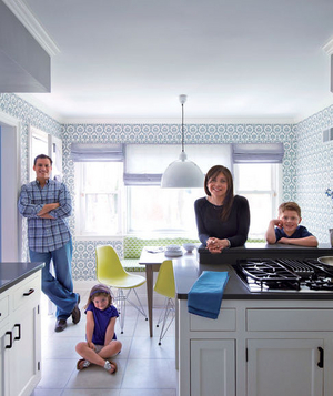 Amy and David Low's kitchen after makeover
