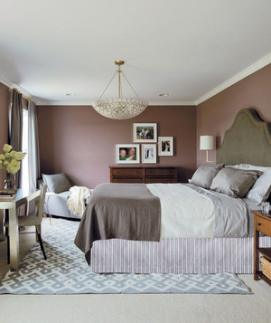 Susan and Joe Nyzio's bedroom after makeover