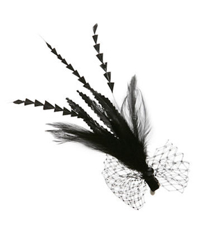 Jane Tran Hair Accessories Feather Clip