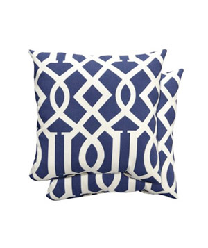 Home Outdoor Toss Pillow