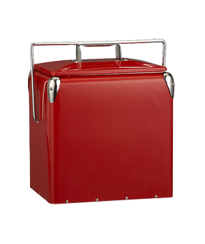 Red Picnic Cooler