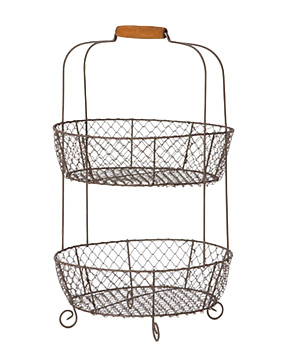 Tiered Picnic Basket