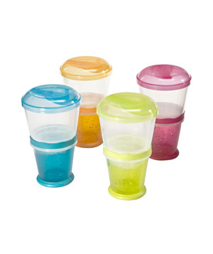 Cereal-on-the-Go containers