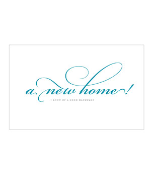 Gilah Press New Home! card