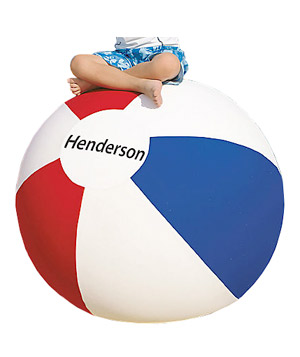Giant Personalized Beach Ball