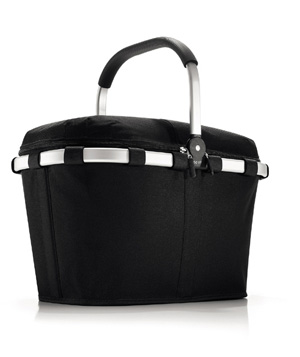 Picnic basket with insulated liner and zip