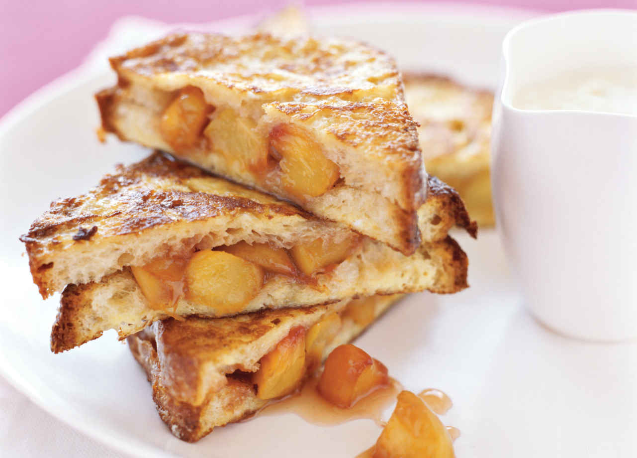 Peach French Toast