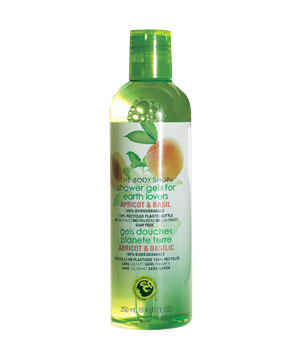 The Body Shop Shower Gels for Earth Lovers