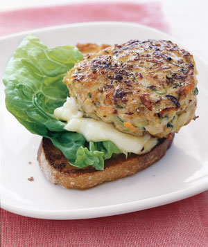 Turkey Burgers With Zucchini and Carrot