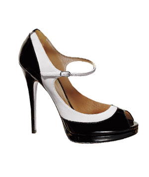 Casadei patent-leather heels