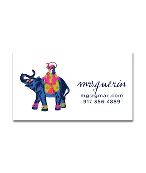 Iomoi Ling the Elephant Blue cards