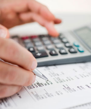 Checking financial calculations