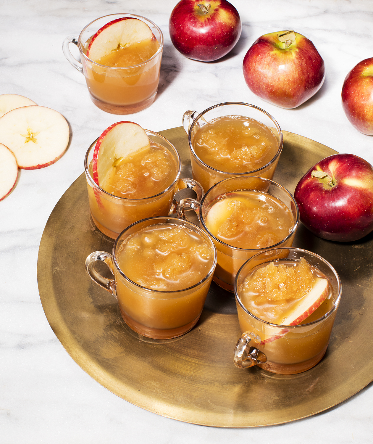 Boozy Apple Cider Slushie