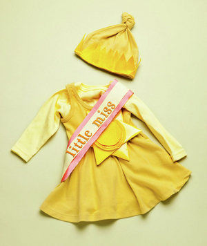 How to make a little miss sunshine costume