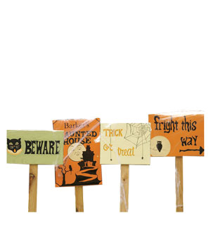 Halloween Wooden Yard Stakes