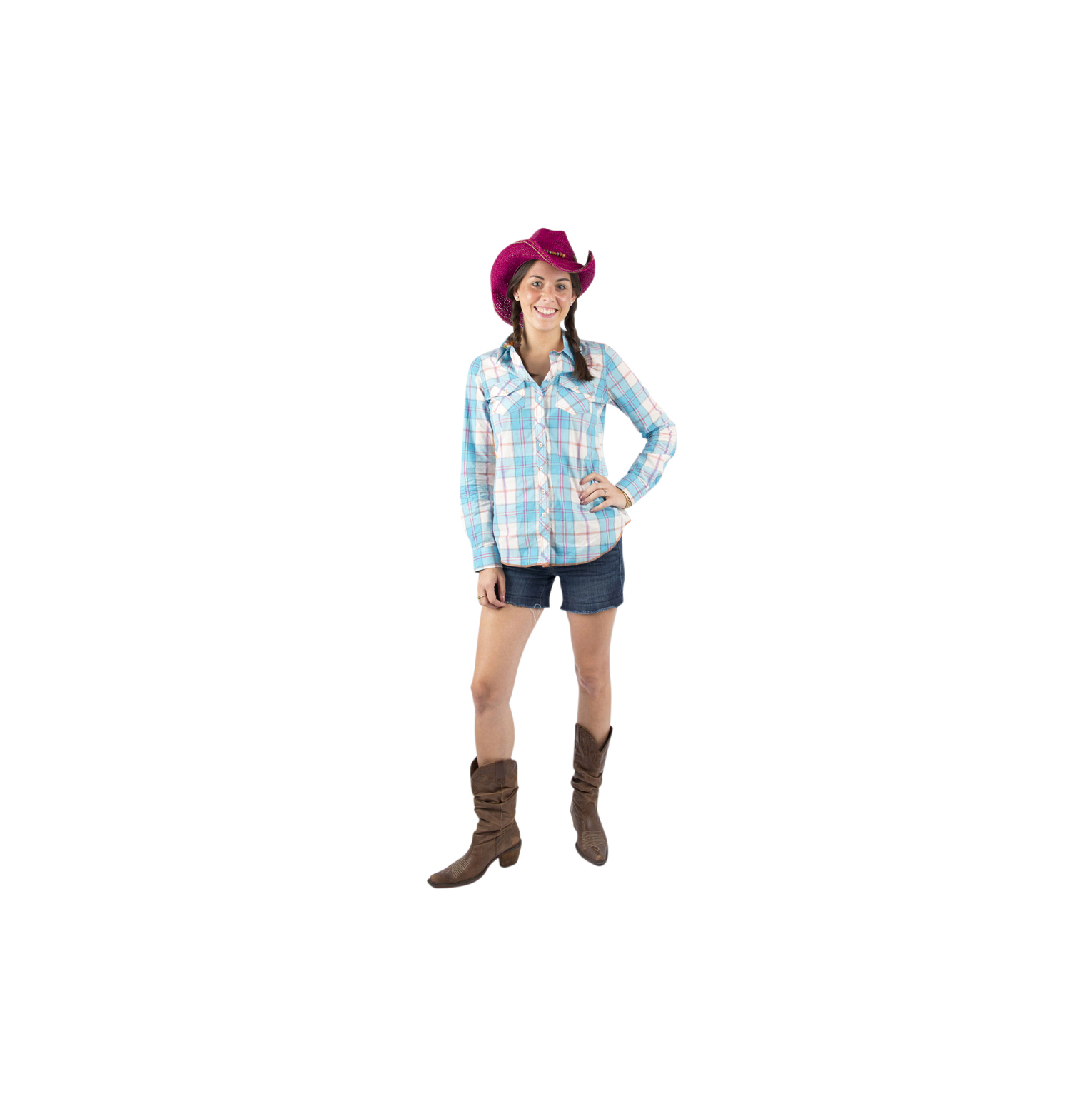 Easy last-minute Halloween costumes, ideas - Cowgirl
