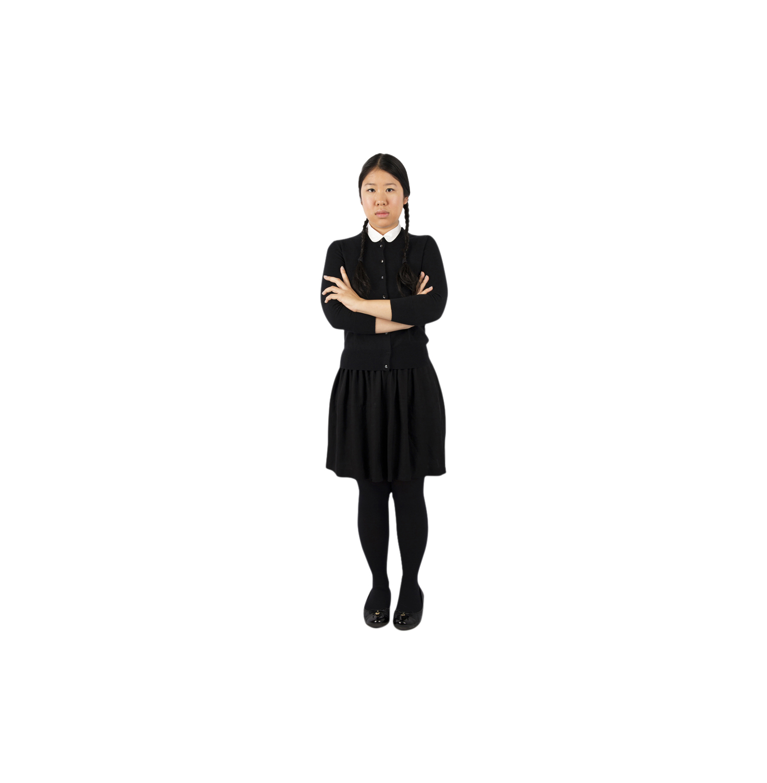 Easy last-minute Halloween costumes, ideas - Wednesday Addams
