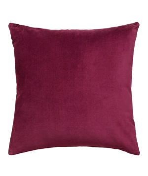 Fig Velvet Throw Pillow