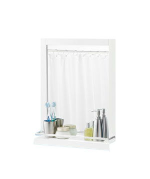 Wall Mirror with Ledge