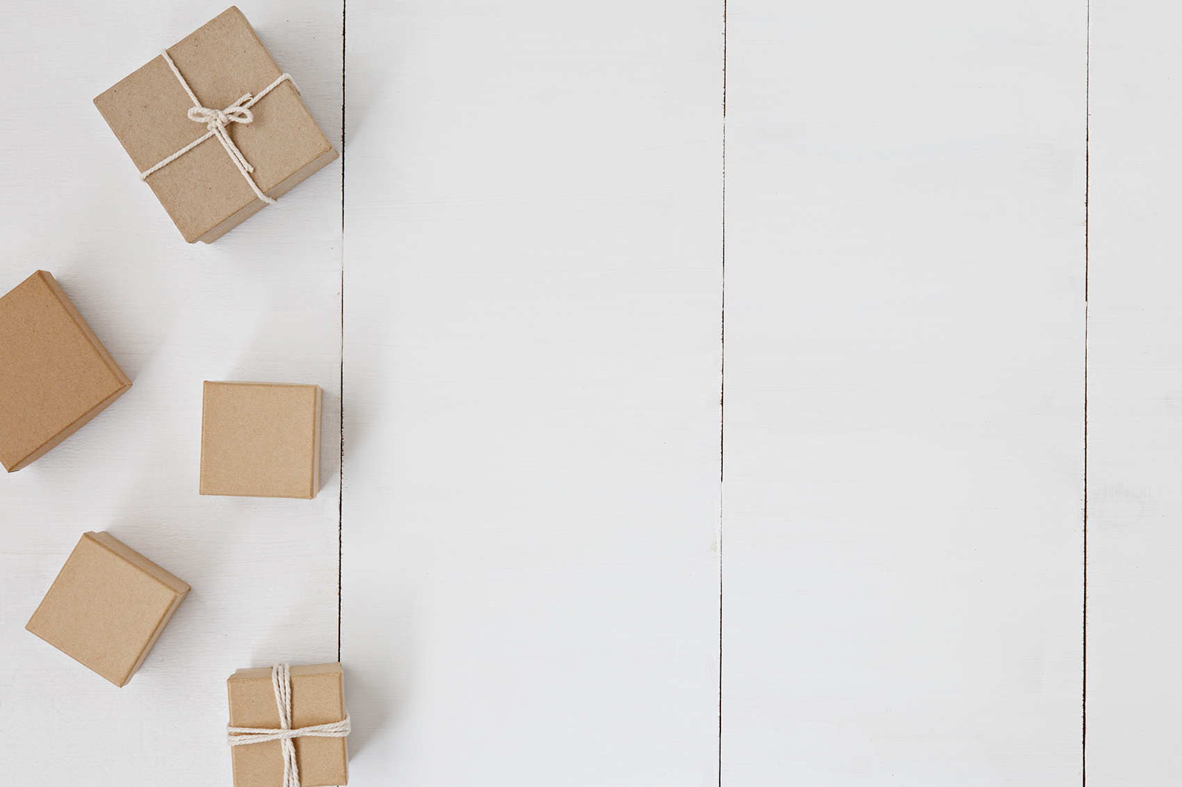wrapped gift boxes decluttering solutions