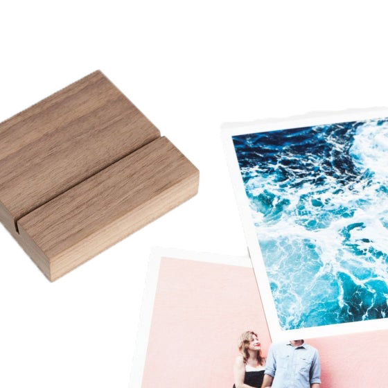 Gifts and Ideas for Teens and Tweens - Artifact Uprising Walnut Block & Prints