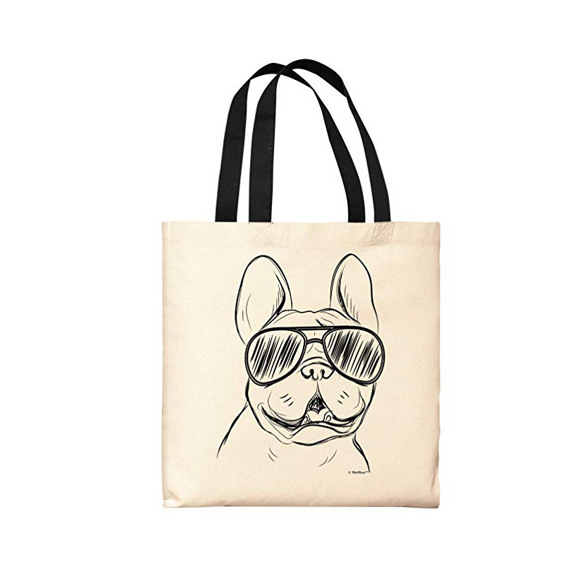 Gifts and Ideas for Teens and Tweens - ThisWear Frenchie Tote Bag