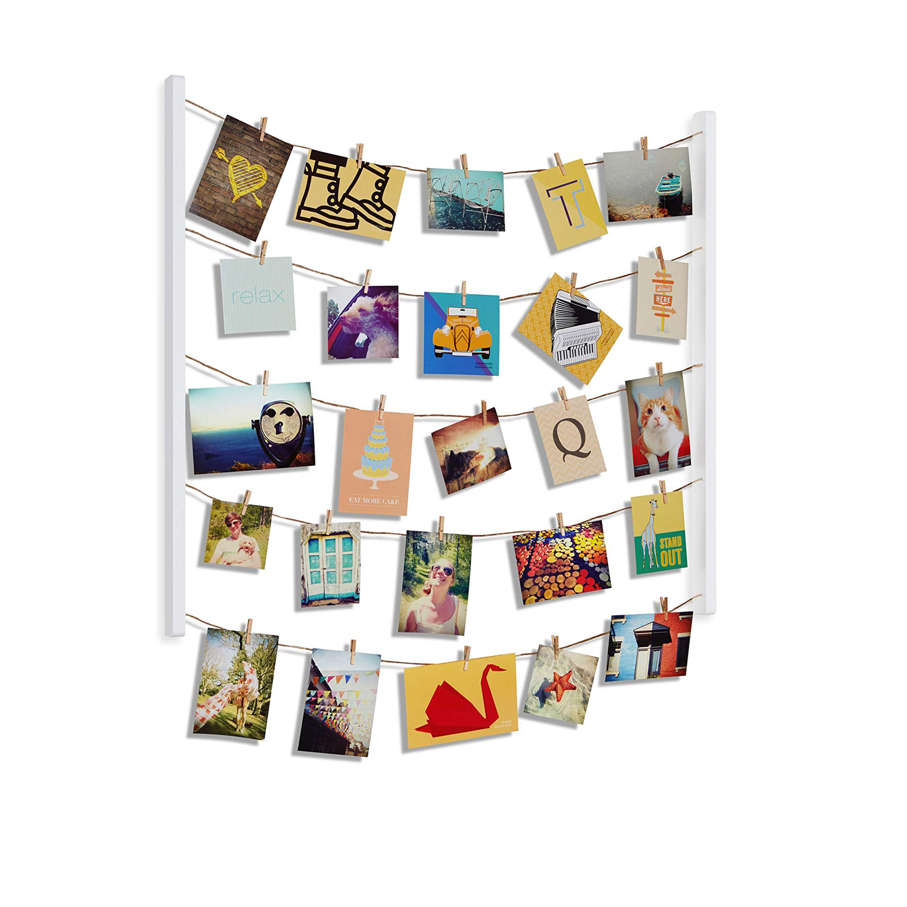 Gifts and Ideas for Teens and Tweens - Umbra Hangit Photo Display