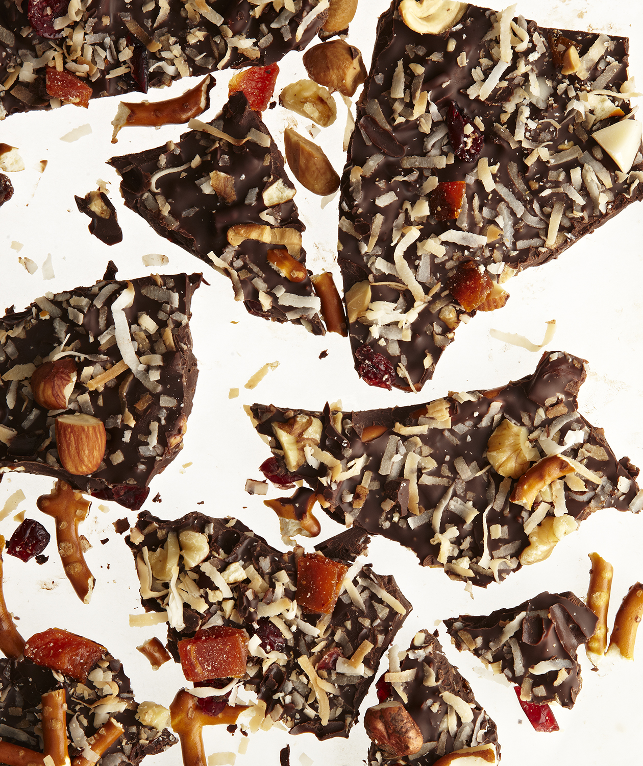 Kitchen Sink Chocolate Bark