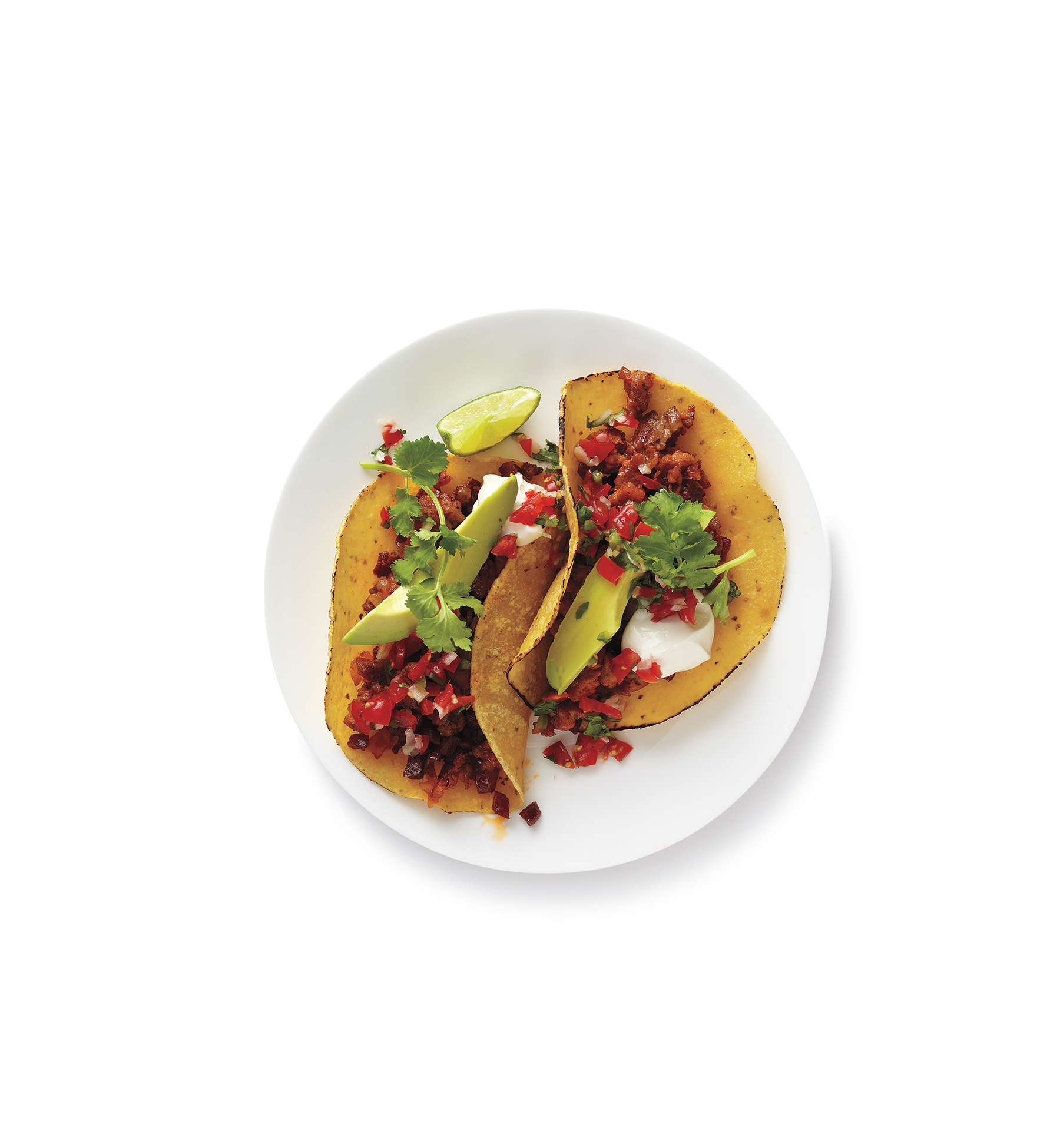 Ground Turkey and Chorizo Tacos