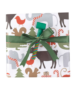 Holidays Animal wrapping paper