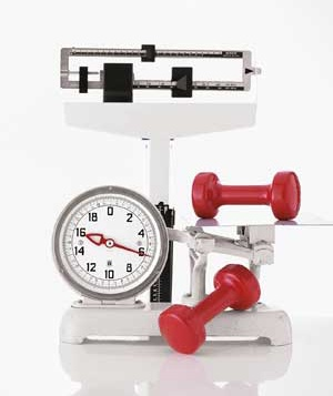 Dumbells and scales