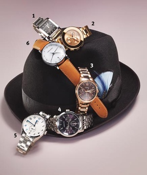 Menswear-inspired watches