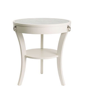 Bar Harbour Wood Table with Mirror Top