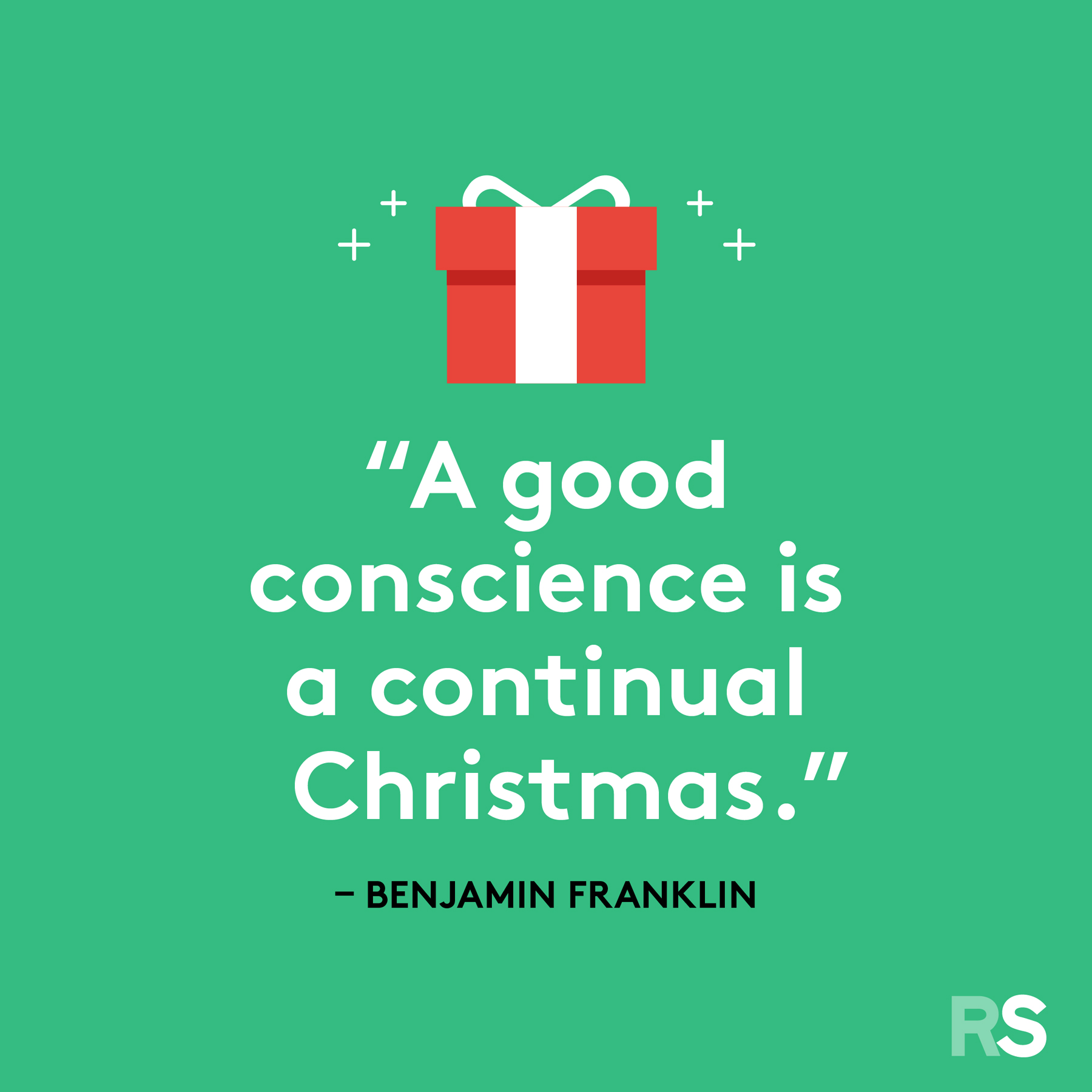 Best Christmas quotes - Benjamin Franklin