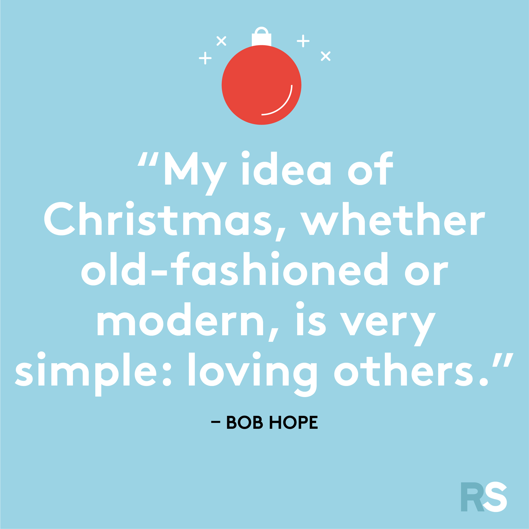 Best Christmas quotes - Bob Hope