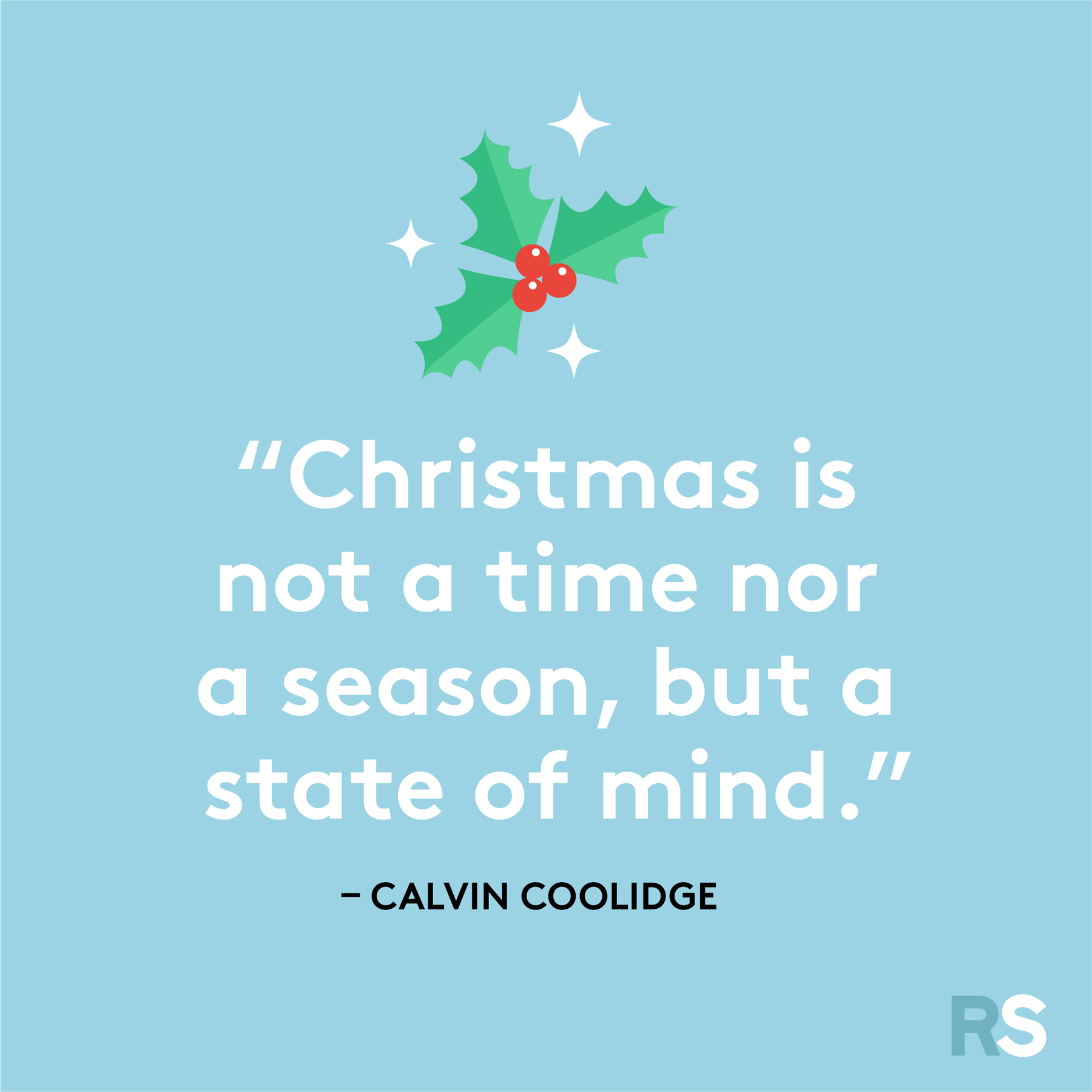 Best Christmas quotes - Calvin Coolidge