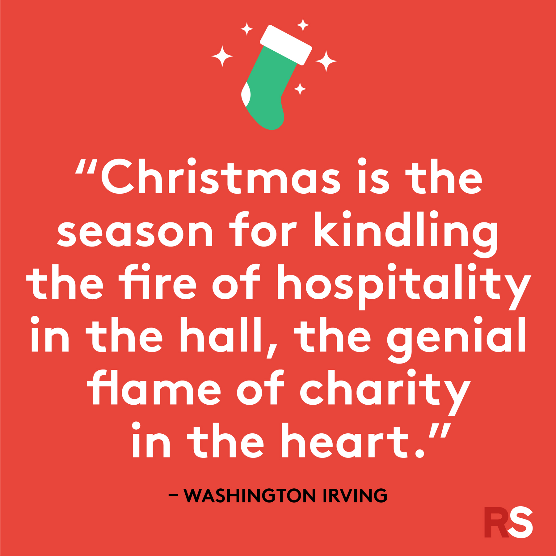 Best Christmas quotes - Washington Irving